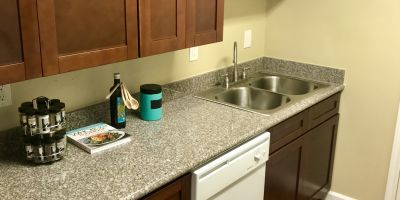 All new kitchen cabinets